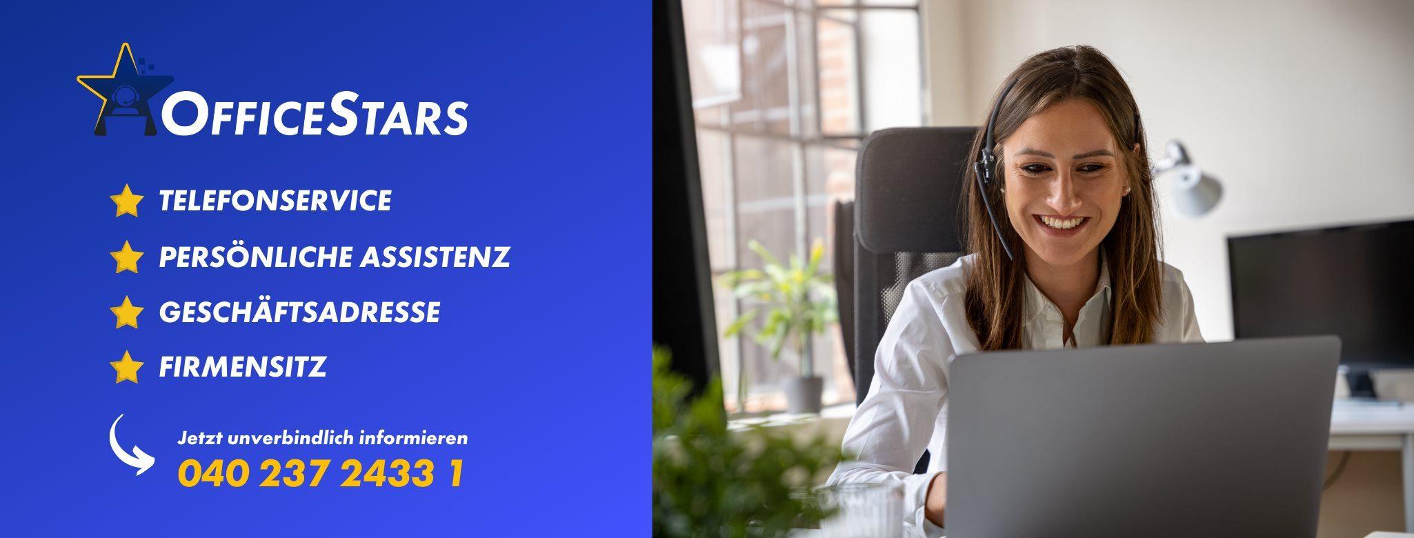 OfficeStars – virtueller Büroservice